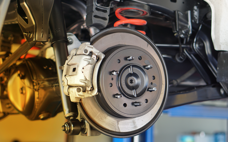 Motorcraft® or Omnicraft™ Complete Brake Service